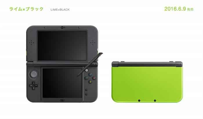 NEW Nintendo 3DS Lime