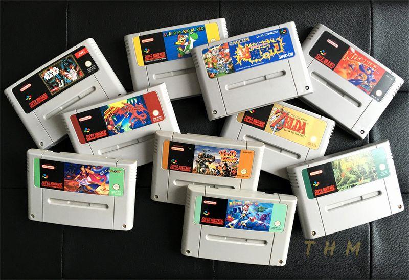 Cartouches Super Nintendo NX