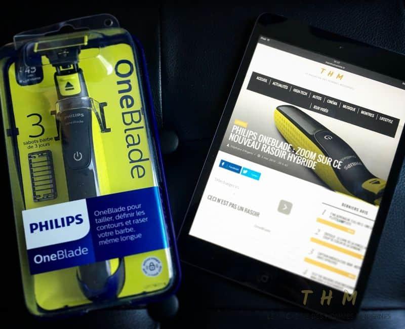 Test Philips OneBlade 3