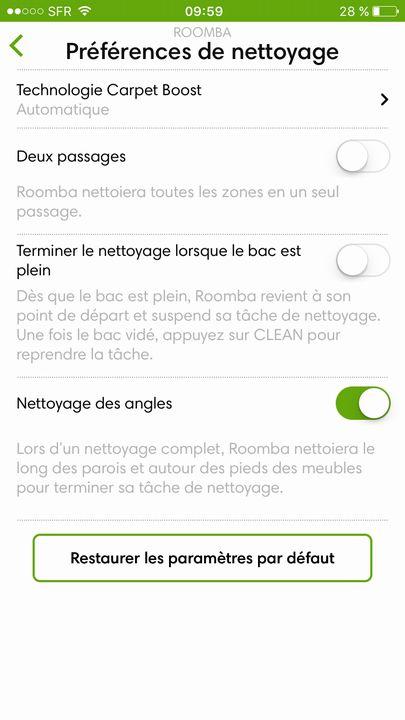 iRobot Roomba App 3