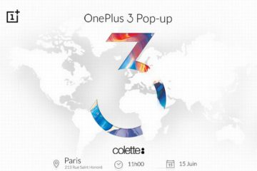 OnePlus 3 Colette Paris