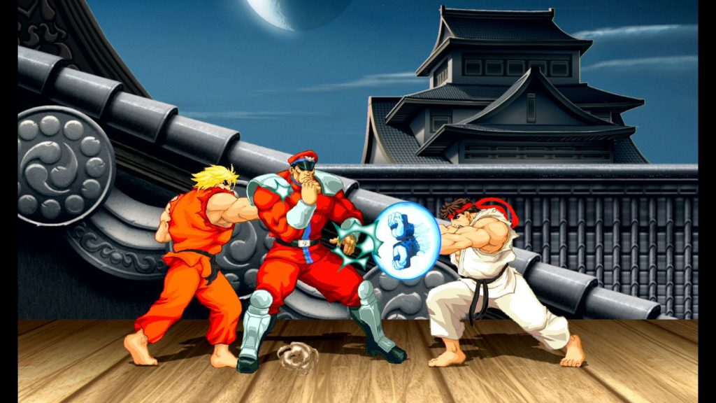 Ultra Street Fighter II nintendo switch hadouken