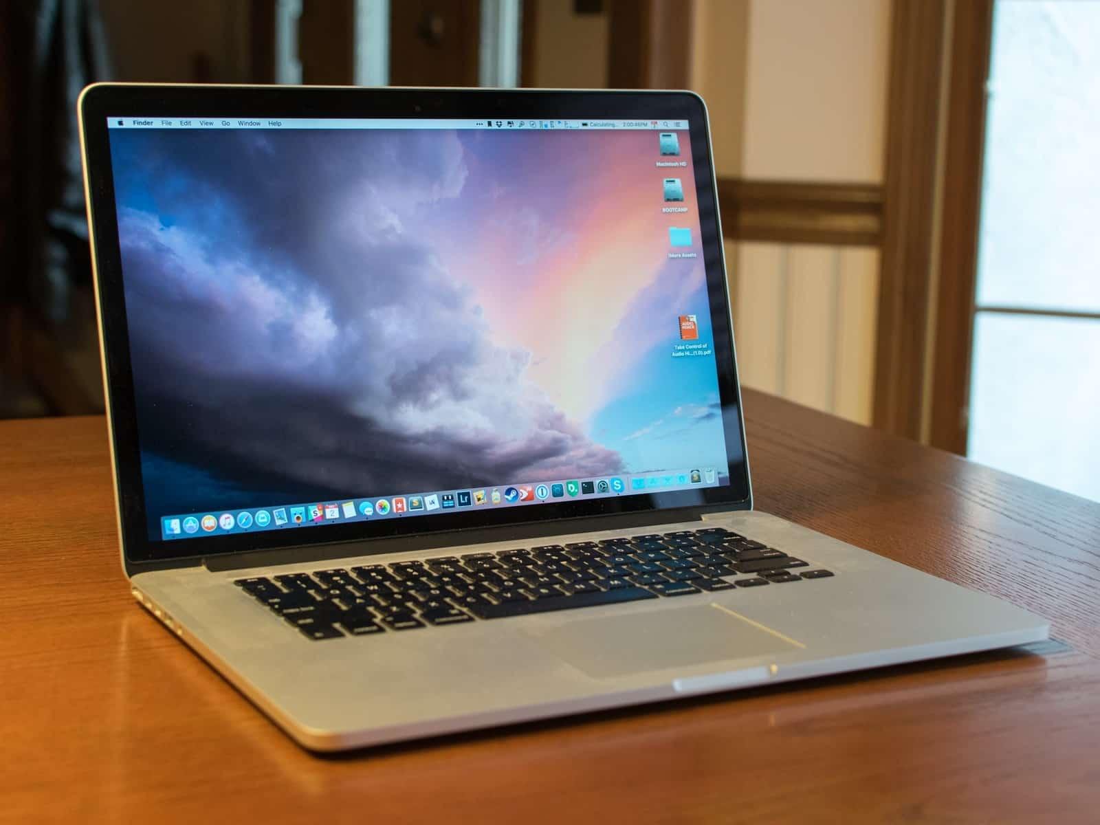 Un Apple MacBook Pro
