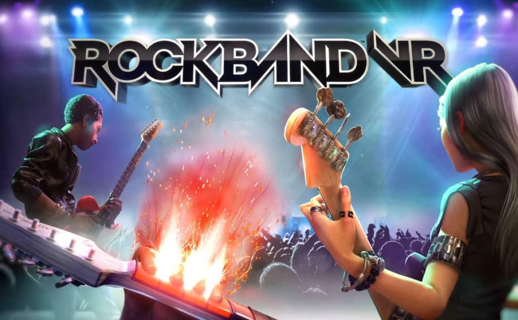 Date de sortie, 23 mars 2017 — Rock Band VR