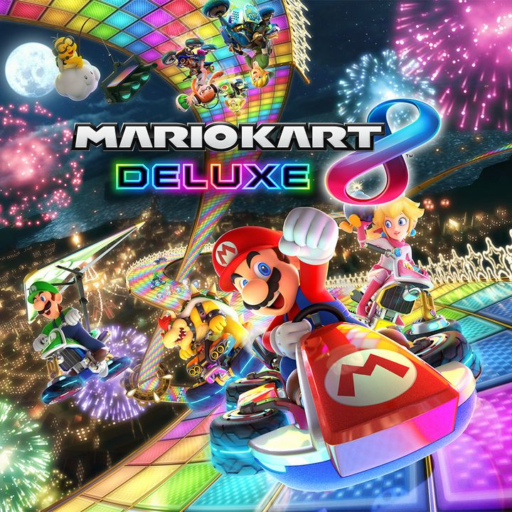 mario kart 8 deluxe le test comparatif wii u nintendo switch thm magazine. Black Bedroom Furniture Sets. Home Design Ideas