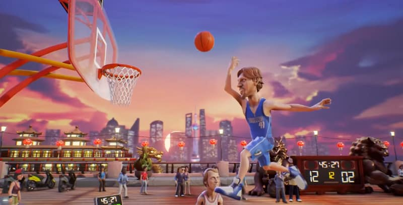 NBA Playgrounds arrive sur mai sur Switch