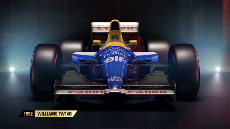 Enfin un jeu vidéo avec des F1 historiques
