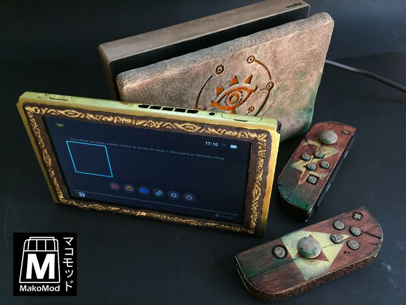 sheikah switch mod la nintendo switch collector zelda. Black Bedroom Furniture Sets. Home Design Ideas