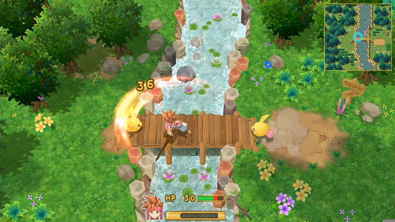 Square Enix officialise le remake 3D de Secret of Mana
