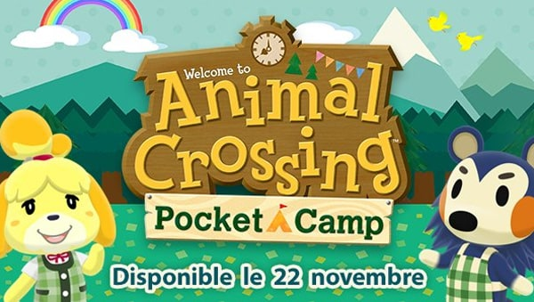 Animal Crossing Pocket Camp : disponible ce 22 novembre