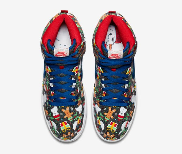 Nike SB Dunk Pro High « Ugly Sweater » : les baskets (moches