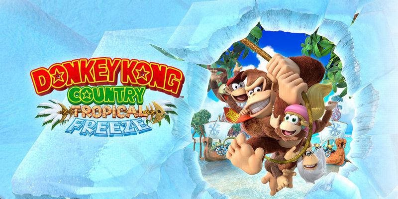 Donkey Kong Country: Tropical Freeze - Le jeu Wii U porté sur Switch