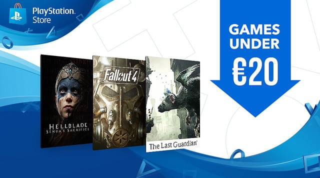 PS Store 20 euros