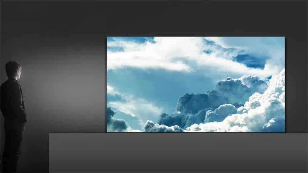 [CES 2018] The Wall, une télévision 4K de 146 pouces par Samsung