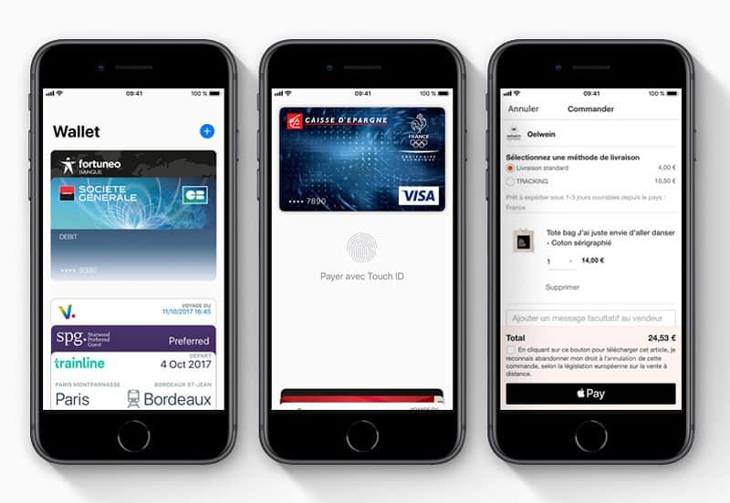 Apple Pay disponible chez la Société Générale — France