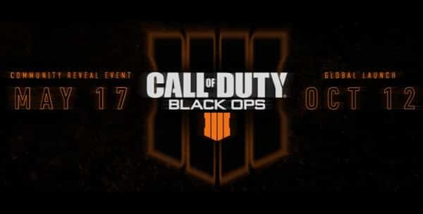 Le prochain Call of Duty se nommera Black Ops 4