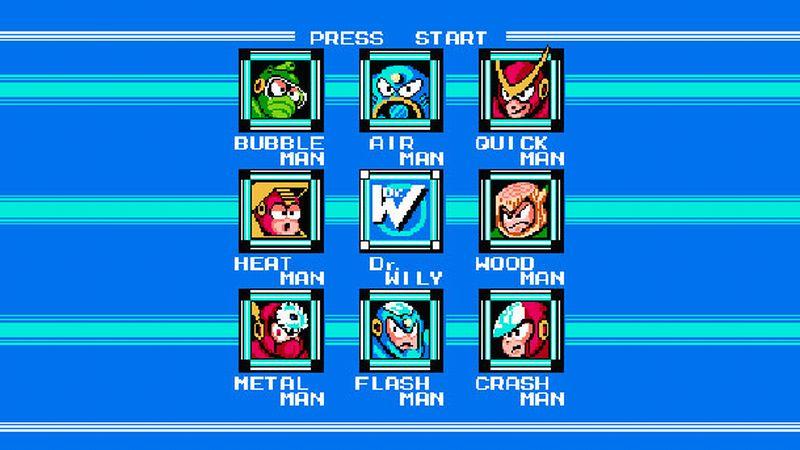 Megaman 2 boss list