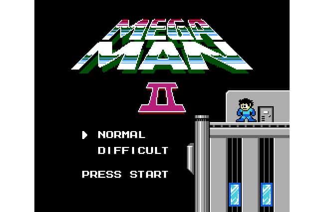 Megaman-2-test-start