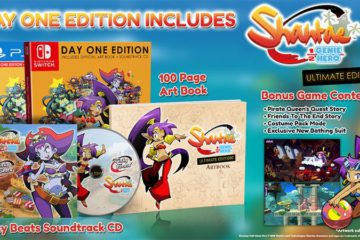 Shantae Collector Switch PS4