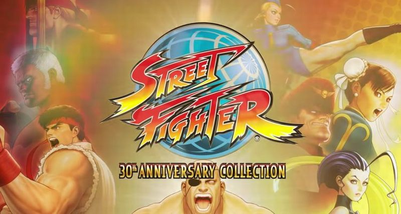 Street Fighter 30th Anniversary Collection date son retour