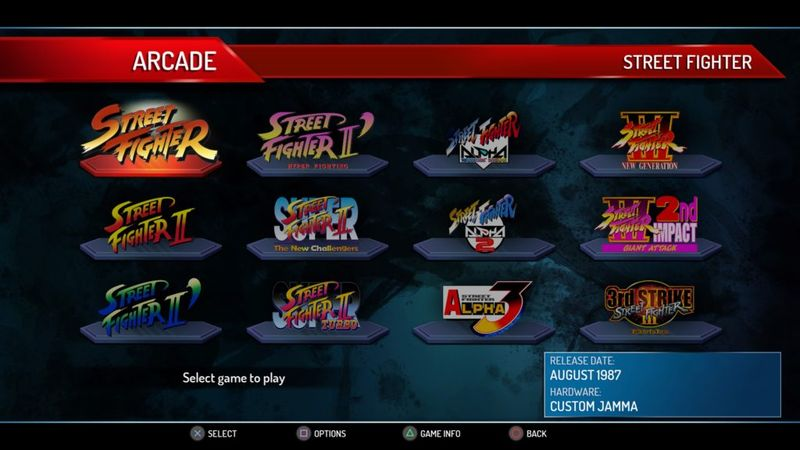 Street Fighter 30th Collection bis