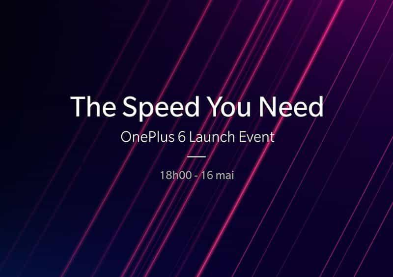 OnePlus 6 : présentation à Londres le 16 mai… et vous êtes invités !