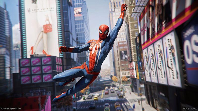 Spider man ps4 disponible le 7 septembre et en - Les jeux de spiderman 4 ...