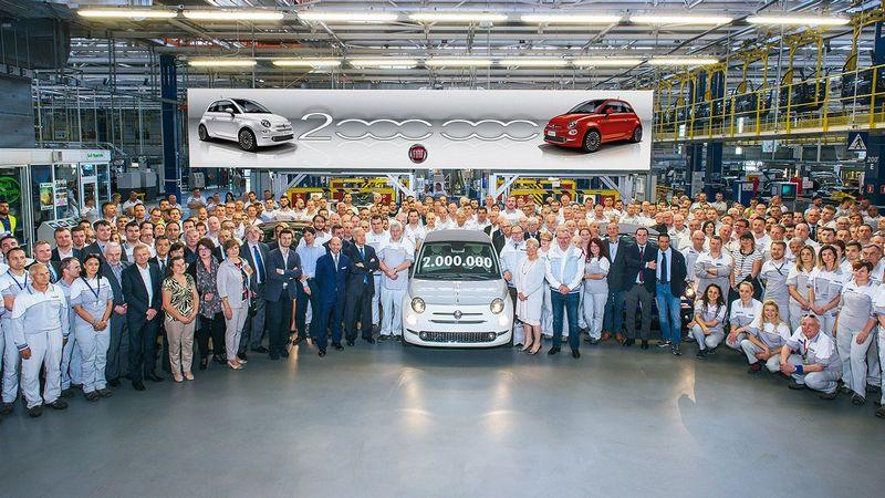 La Fiat 500 franchit la barre des 2 millions d'exemplaires produits