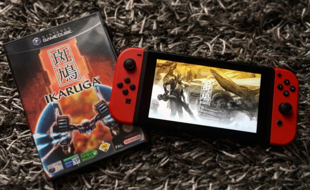 Ikaruga-Switch-GameCube