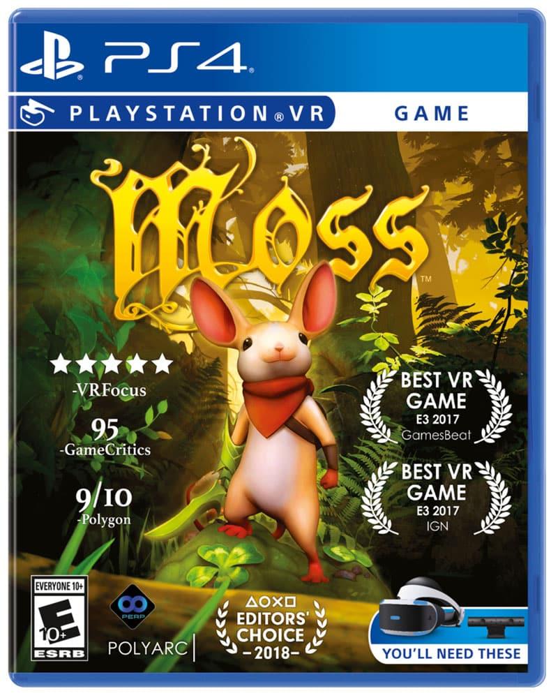 Moss PS4 box