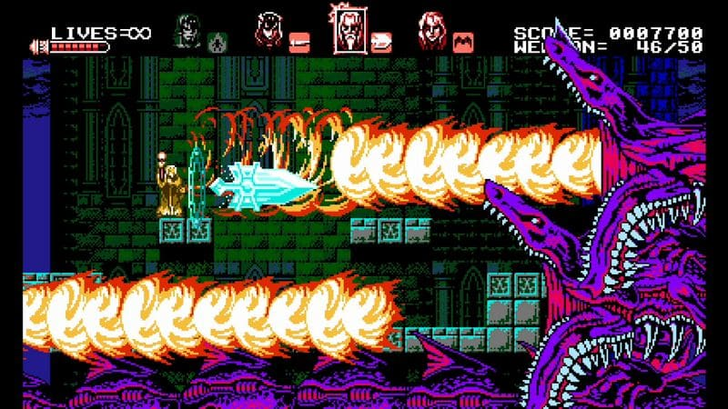 Bloodstained test review switch