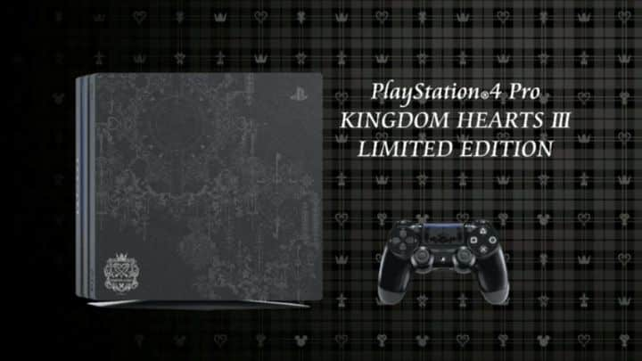 PS4 Pro Kingdom Hearts