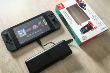 Test review Anker PowerCore Nintendo Switch