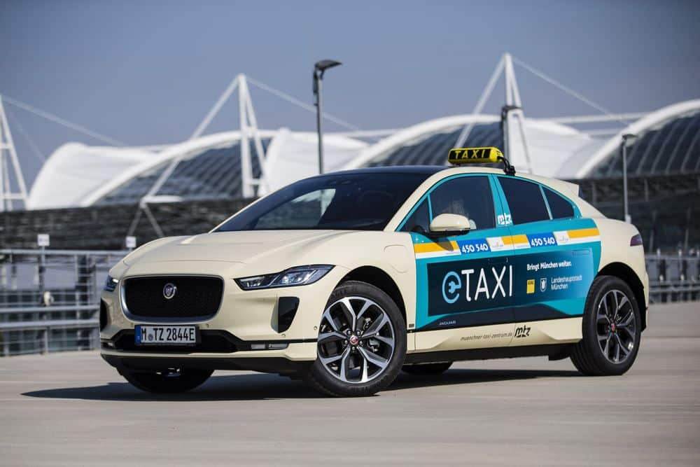 Jaguar I Pace Taxi