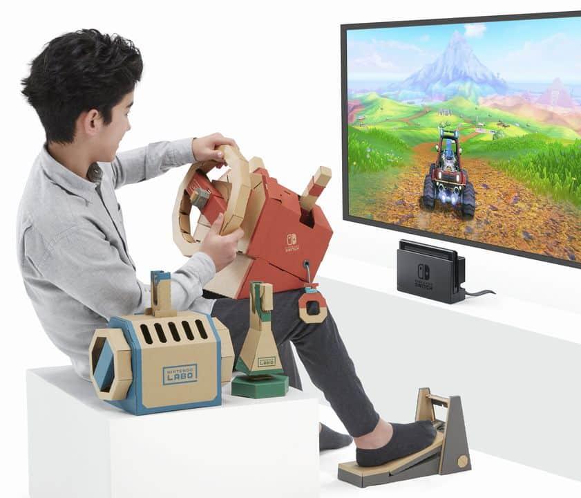 Nintendo Labo - Toy-Con 3 : Vehicle Kit - Dévoilé en vidéo