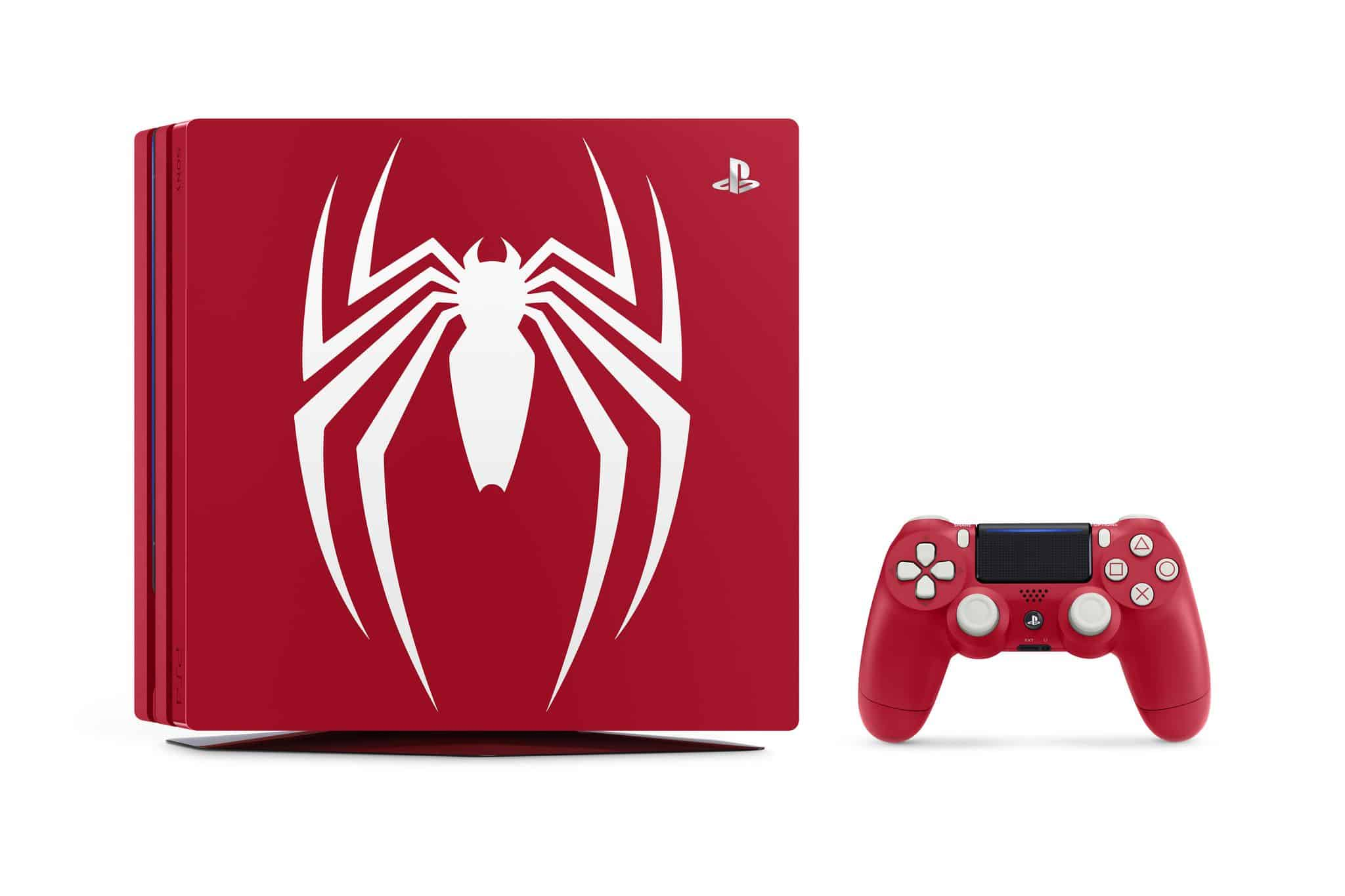 PS4 Pro Spiderman collector (4)