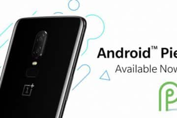 mise jour android 9 oneplus 6 oxygen os