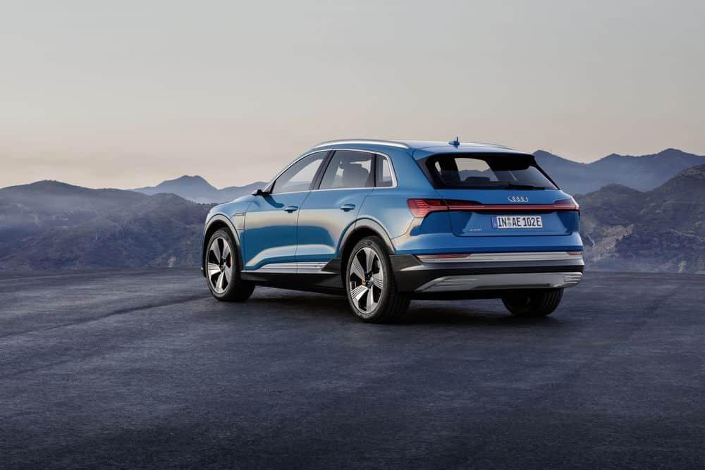Audi etron 2018 suv electrique