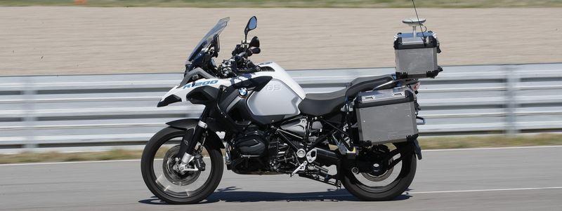 BMW R 1200 GS autonome