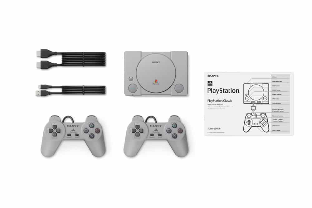 playstation classic contenu packaging