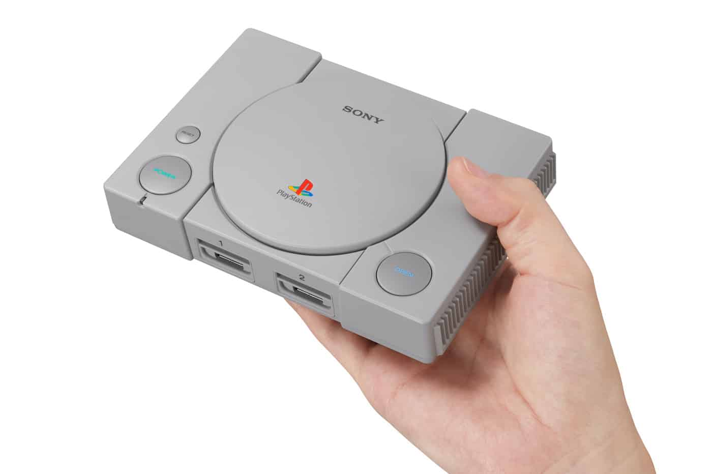 Playstation Classic hand size