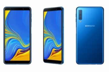 nouveau samsung galaxy a7 2018 trois capteurs photo