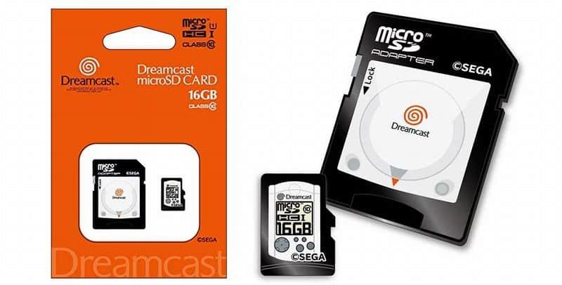 Sega Dreamcast microSD