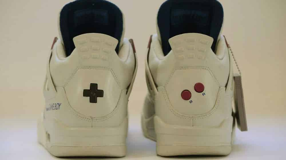 baskets Air Jordan Game Boy Super Mario Land