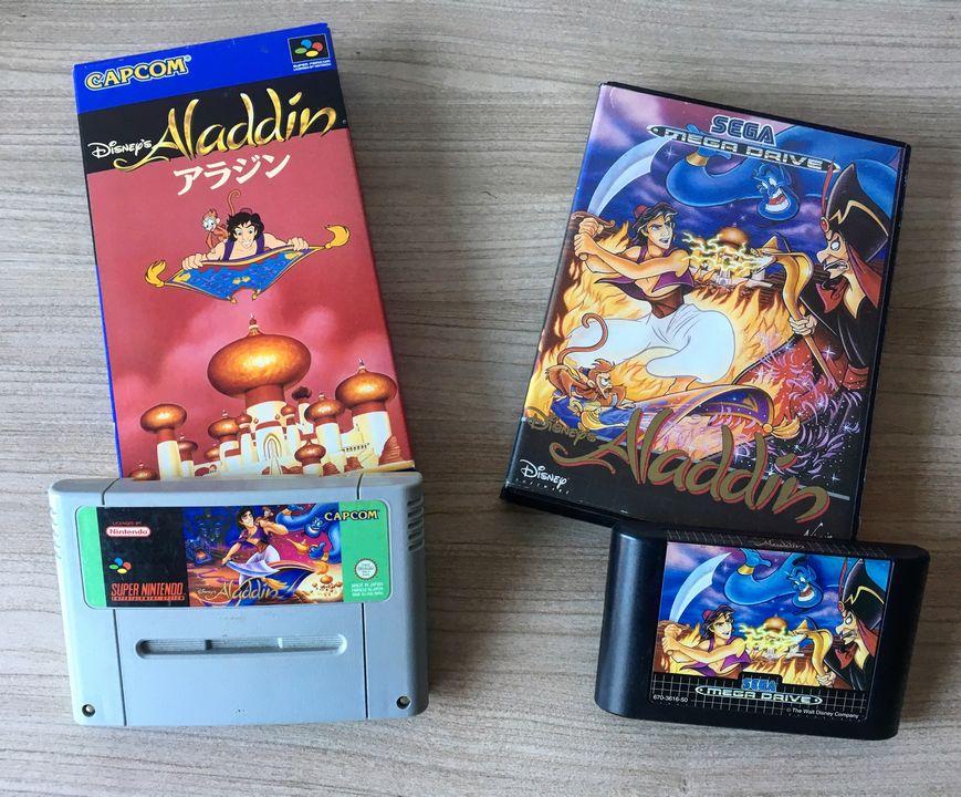 Aladdin Super Nintendo MegaDrive