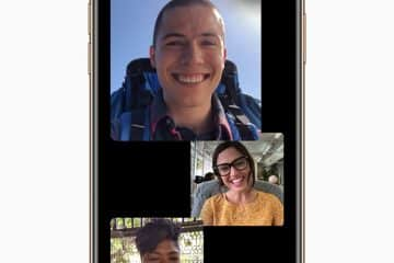 Apple iOS Facetime Groupe