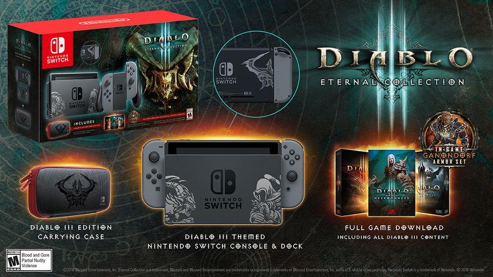 Diablo III Nintendo Switch Collector