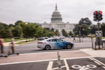 Ford Autonomous Vehicles in D.C.