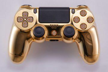 Lux DualShock 4 Gold