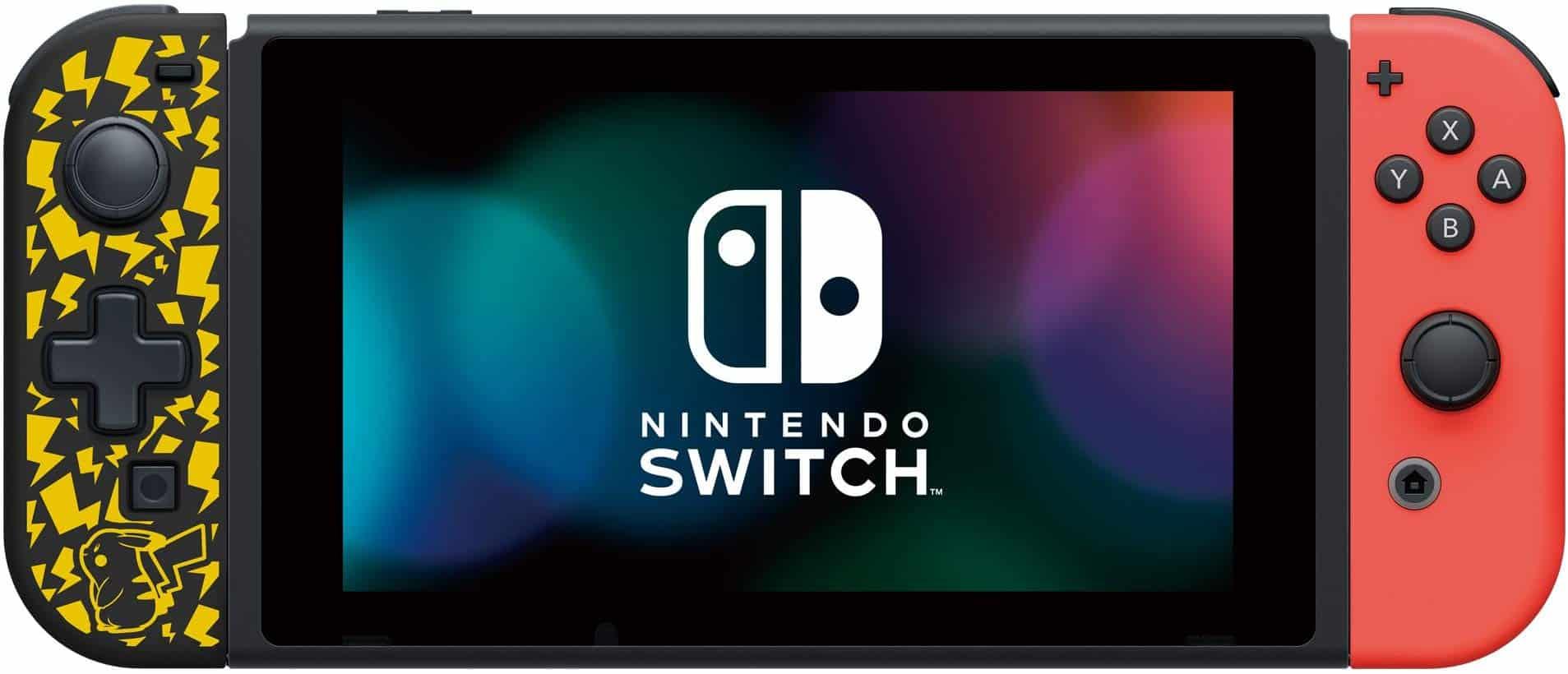 Nintendo Switch DPad Pikachu